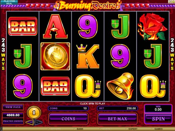 Burning Desire Slot Game Review