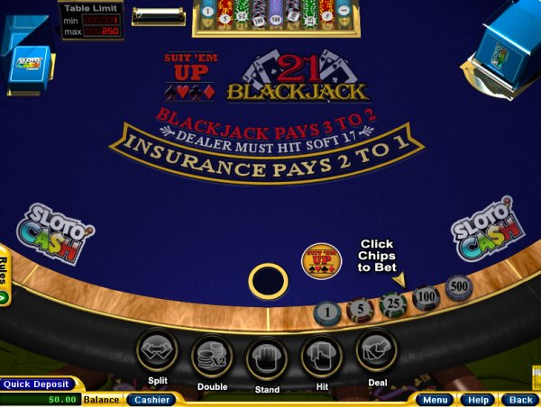 Suit 'em Up Blackjack – Online Blackjack Games
