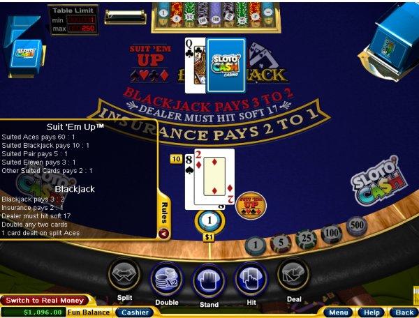 Suited Blackjack