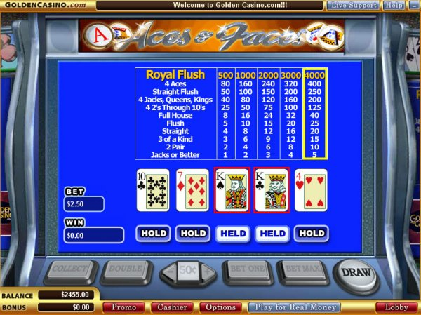 The Aces & Faces™ Slot Machine Game to Play Free in Microgamings Online Casinos