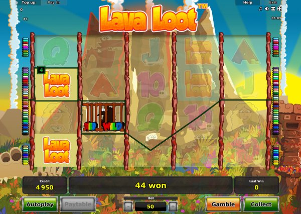Lava Loot Slots - Free Online Casino Game by Novomatic