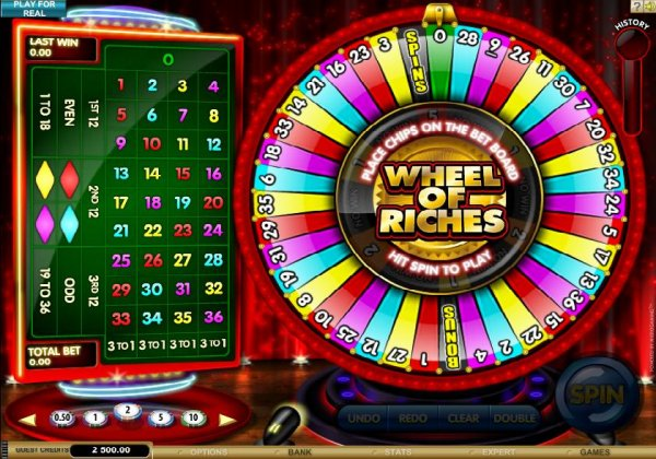casino online games wheel book