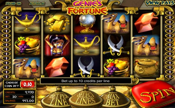 Genies Fortune - Mobil6000