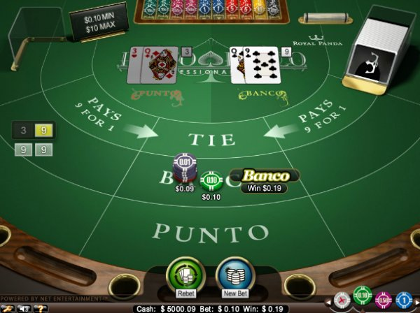 Punto Banco Review – Play Punto Banco Online