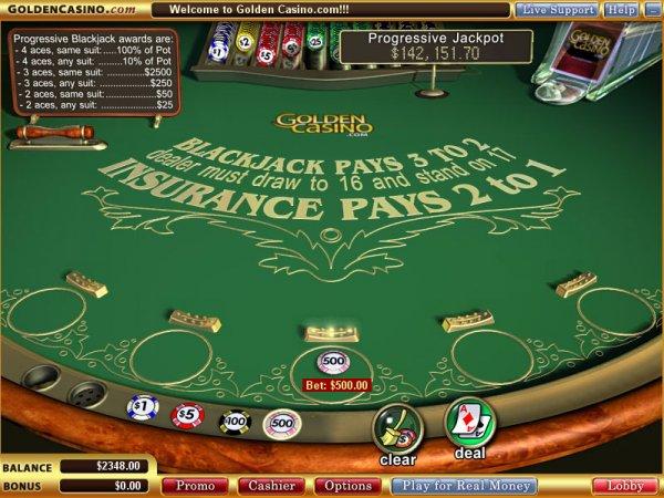 Vegas Technology: Progressive Blackjack screenshot