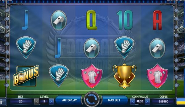 online casino games reviews football champions cup