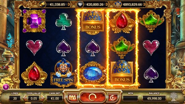 New Empire Fortune Slot from Yggdrasil