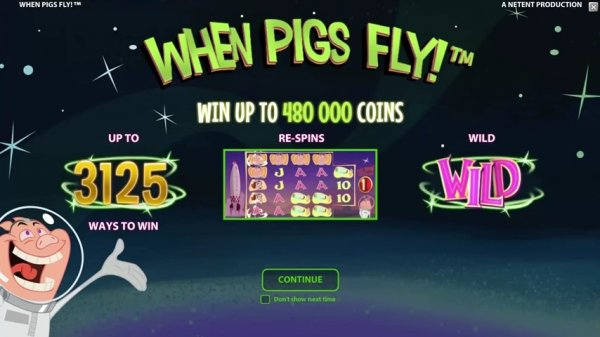 de online casino when pigs fly