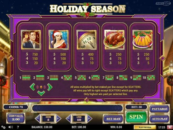 Slot Holiday | Euro Palace Casino Blog