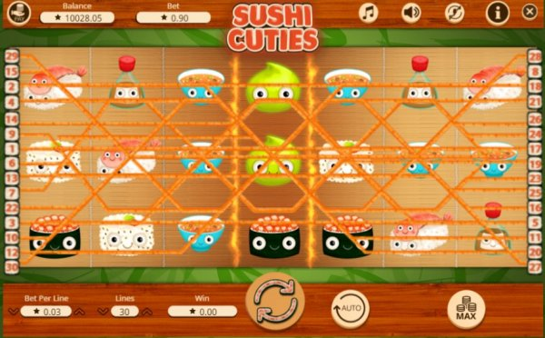 Sushi Cuties Slot - Play Booming Games Slots Online for Free