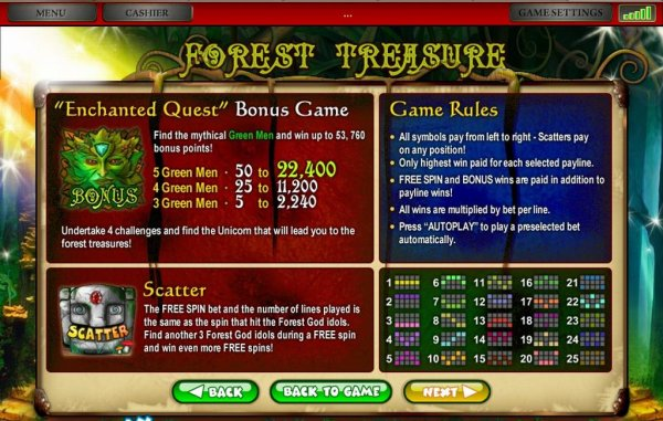 Forest Treasure by Pragmatic Play Ltd