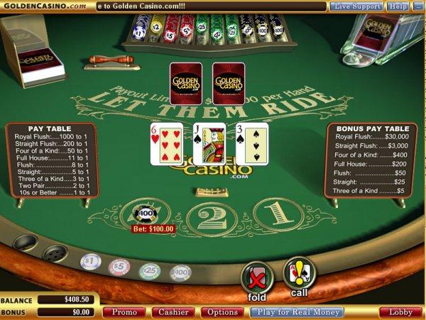 Let Them Ride, Vegas Technology style