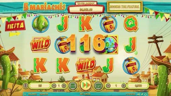 Habanero Casinos Welcome New 5 Mariachis Slot
