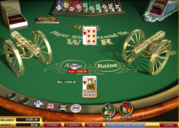 Online gambling casino war review casino