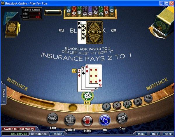 Blackjack rng software