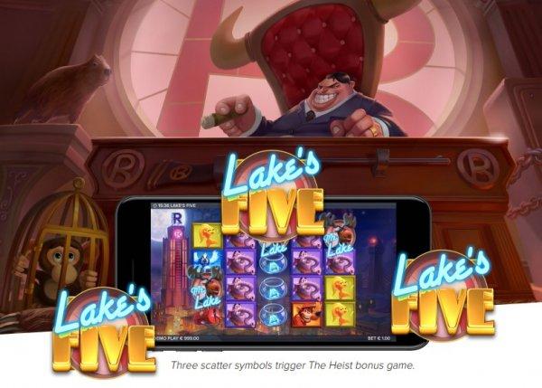 Elk Studios Casinos Release New Lakes Five Slot
