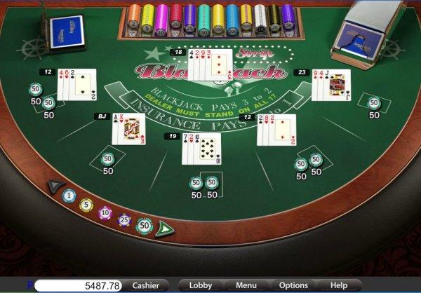 vegas strip 5 dollar blackjack