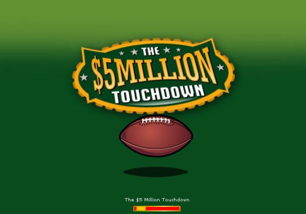 $5 Million Touchdown Slot™ Slot Machine Game to Play Free in WGSs Online Casinos