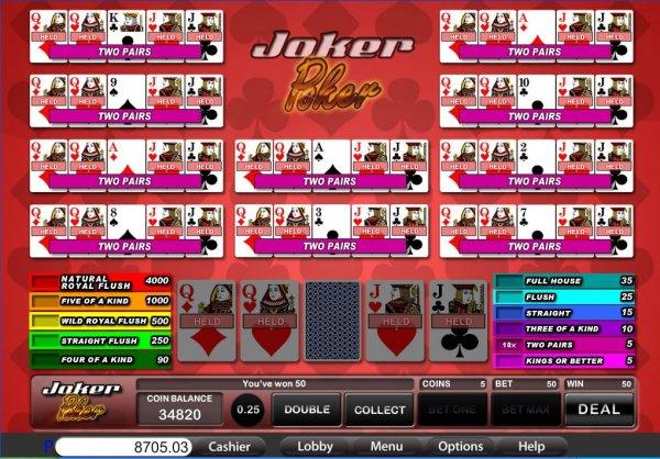online casino ratings joker online