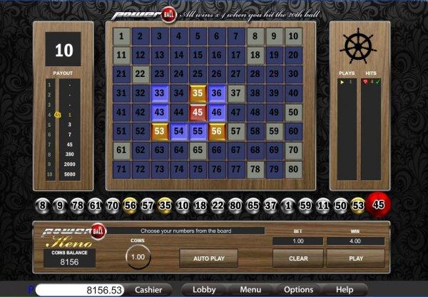 keno slot machine tips