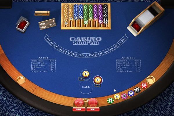 how to play texas hold em in a casino