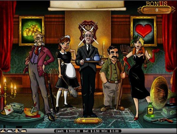 Mystery at the Mansion - Gratis Interaktivt Slot