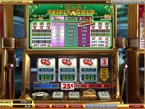 slot triple fun gold