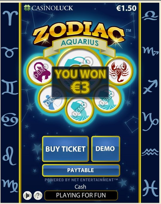 zodiac casino horoscope