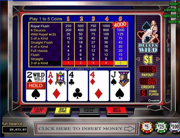 Spiele Deuces Wild (RTG) - Video Slots Online