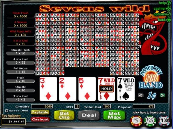 casino online games burn the sevens online