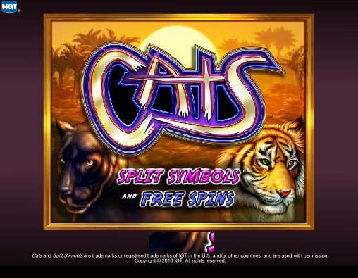 igt slot games cats softwear