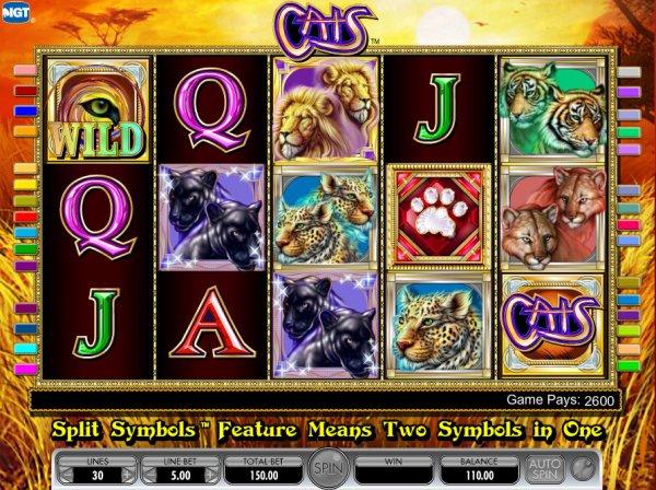 Cats máchinas tragamonedas gratis en IGT Casinos en línea
