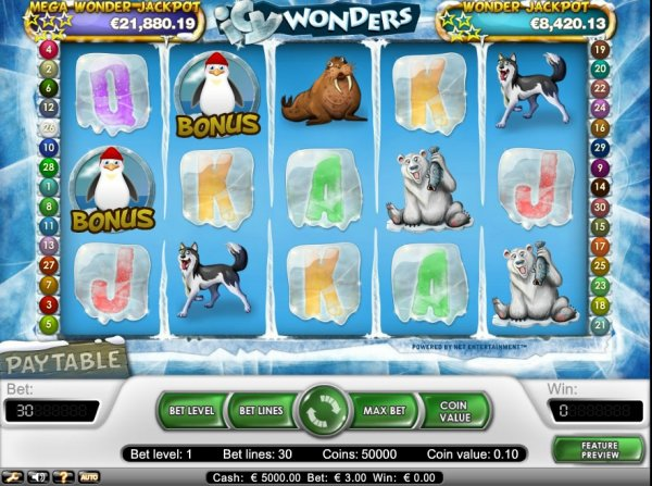 Icy World Slot Machine - Play this 777igt Casino Game Online