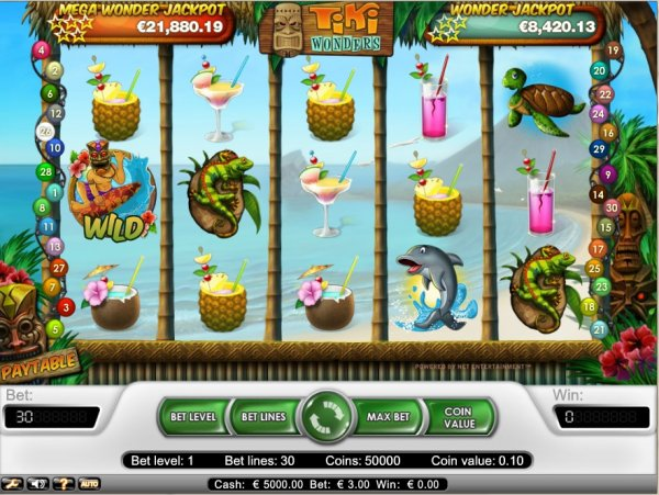 Tiki Wonders Slot Machine Online ᐈ NetEnt™ Casino Slots