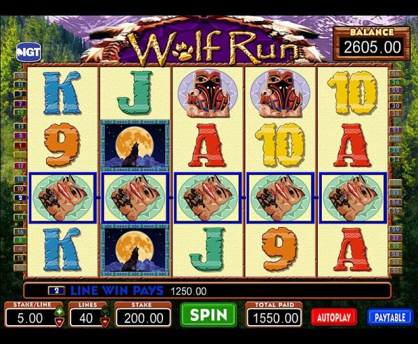 Free casino slot game wolf run american casino and entertainment
