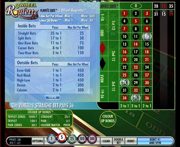 online casino roulette algorithm