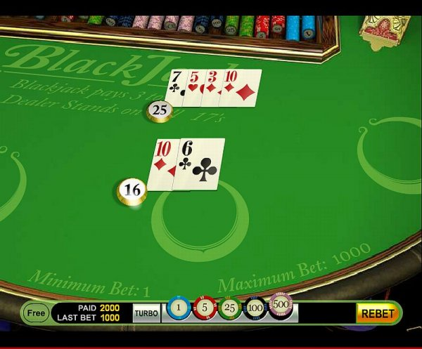 Blackjack push ups