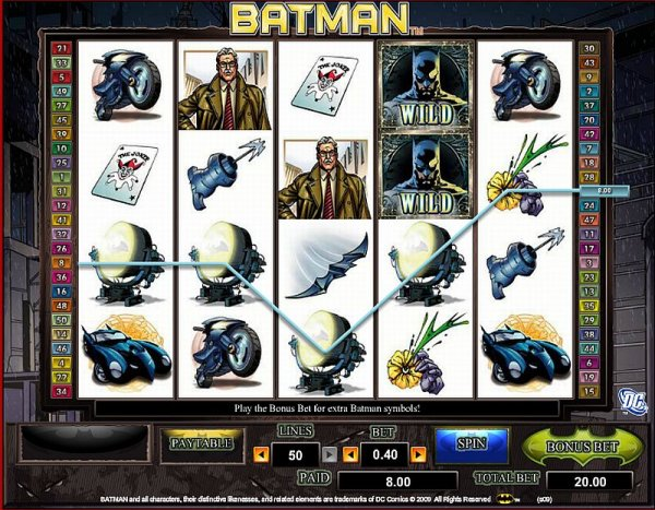casino slot games free online batman