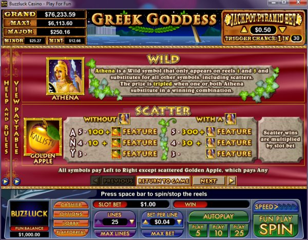 Golden 7 Classic Slot - Review and Free Online Game