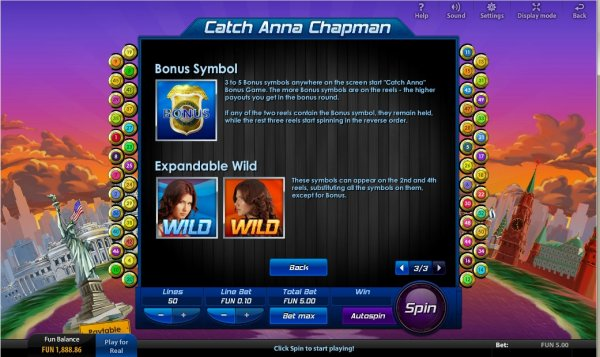 Catch Anna Chapman Slot - Play Online Slots for Free