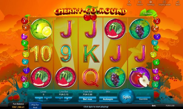 Cherry Go Round Slots - Free Online Casino Game by Viaden