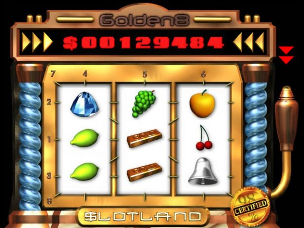 Golden 8 Slots only at Slotland