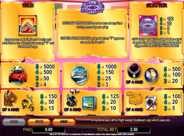 de online slots free spin games