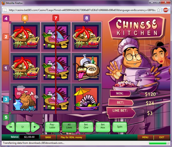 Play Chinese Kitchen Slots Online at Casino.com NZ