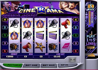 Cinerama™ Slot Machine Game to Play Free in Playtechs Online Casinos