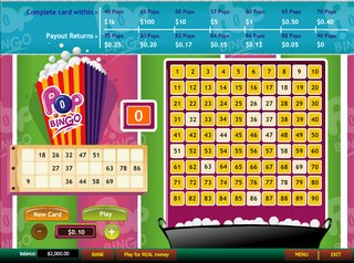 Play Pop Bingo Arcade Game at Casino.com UK
