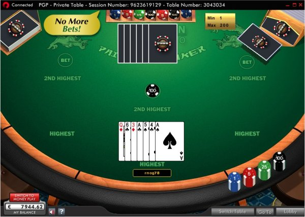 357 poker online all on black roulette
