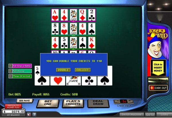 online casino video poker power star