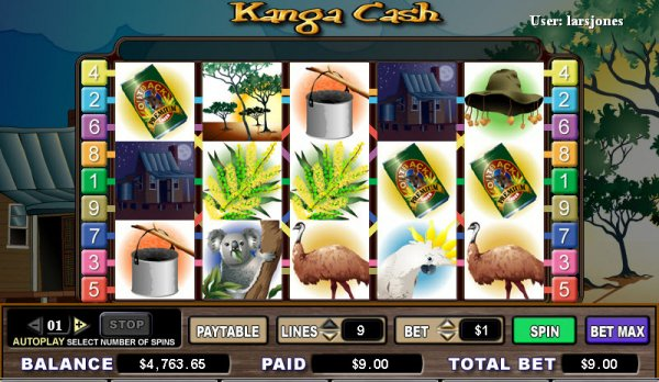 casino bet online kangaroo land