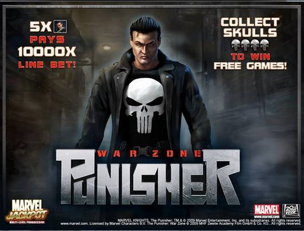 Punisher War Zone Loony Bin Jim